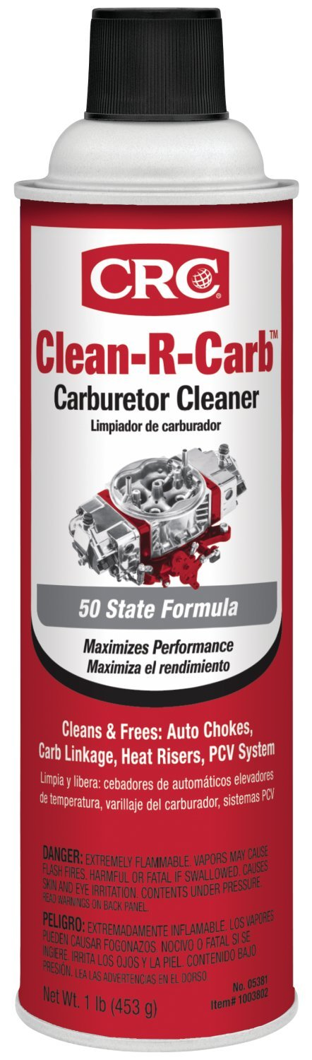 CRC Clean-R-Carb Carburetor Cleaner (50 State Formula), 16 Wt Oz