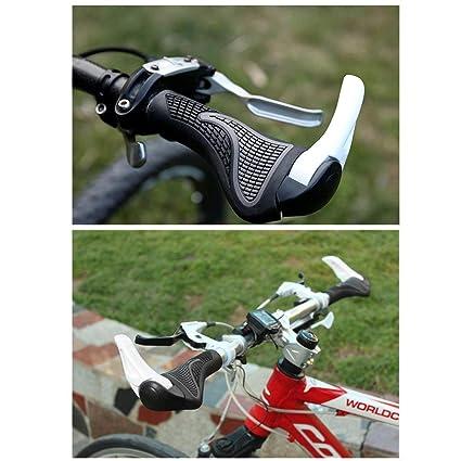 CreLife Apretones de la Bicicleta, montaña, Cuesta Abajo, manija Plegable de la Bicicleta Apretones del Manillar para la Bicicleta DE 22.2 milímetros: ...
