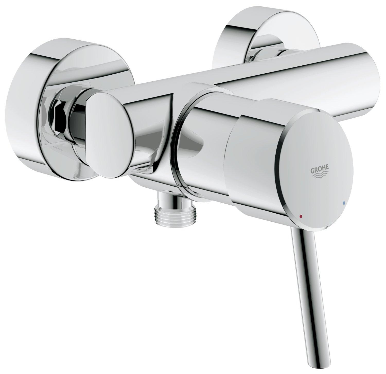 Grohe 32699001 - Miscelatore per doccia serie New Concetto, per installazione a parete