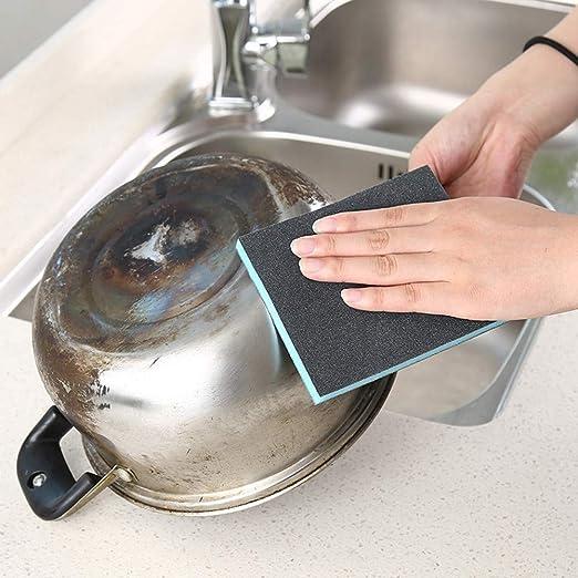 Esponja mágica, Elevin(TM) - Kit de eliminación de Manchas de óxido y Esponja para Cocina Nano Emery Magic Clean