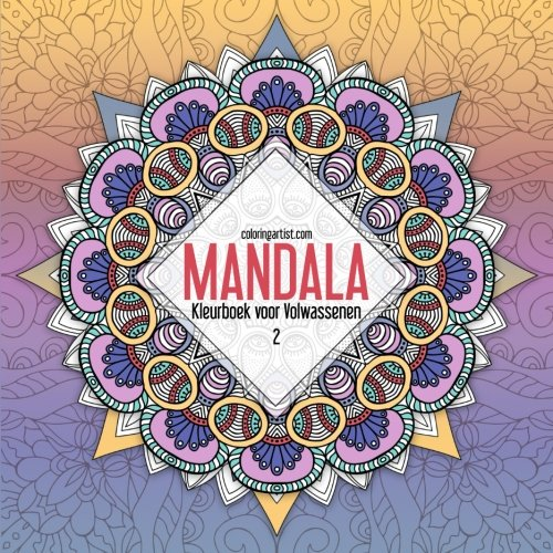 Onwijs Amazon.com: Mandala Kleurboek voor Volwassenen 2 (Mandala's IC-35
