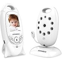ANNEW Vigilabebés Bebé Monitor Vídeo Cámara de Bebé