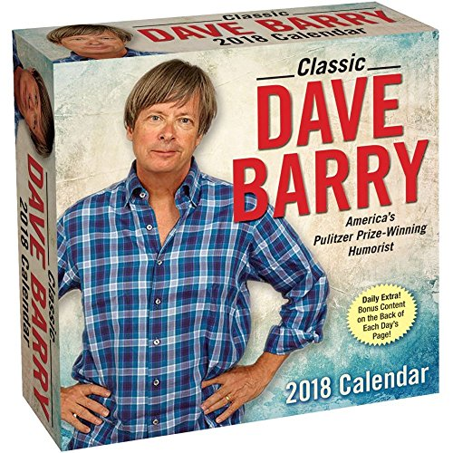 Dave Barry 2018 Day-to-Day Daily Desk Boxed Calendar