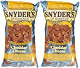 snyders cheese pretzels - Snyder's of Hanover Pretzel Sandwiches - Cheddar Cheese - 8 oz - 2 Pack
