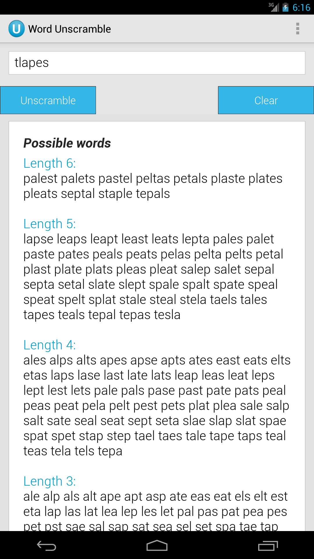 Amazon Word Unscramble Appstore For Android