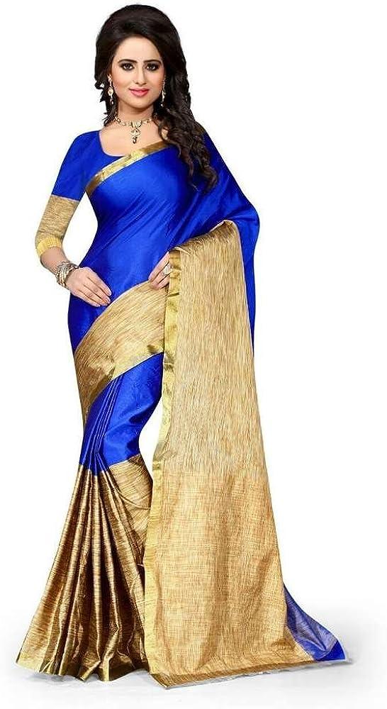 Indische Bollywood Hochzeit Saree indische ethnische Hochzeit Sari Neue Kleid Damen l/ässig Tuch Geburtstag Ernte Top M/ädchen Frauen schlicht traditionelle Party Wear Readymade Kost/üm