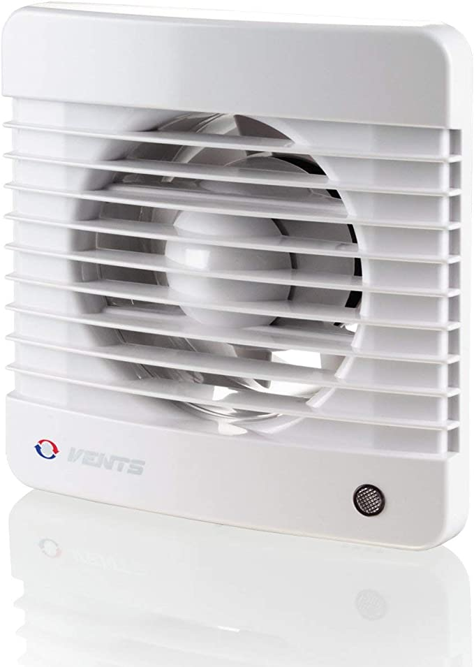 VENTS Silent Bathroom Extractor Fan - Best Fan With The Humidity Sensor