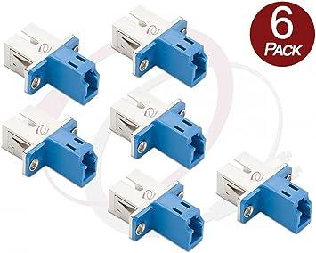 SC-LC LC-SC Female to Female Simplex Adapter SM//MM Fiber Optic Hybrid Adapter