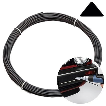 100GR PP POLIPROPILENO soldadura triangular negro para soldar plástico paragolpes coche - PROFESIONAL