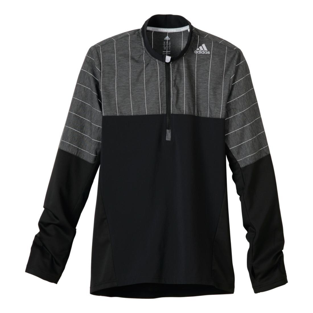adidas Supernova Storm Running Jacket Men Black, Dark Grey