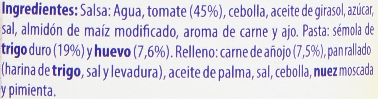 Hero - Ravioli al huevo con carne - Platos caseros - 420 g: Amazon.es: Alimentación y bebidas