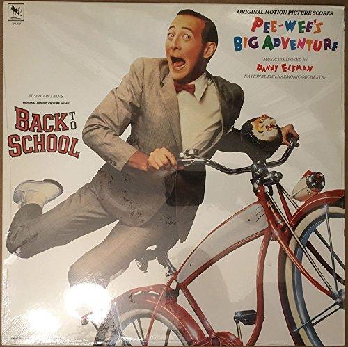 Danny Elfman : Pee-Wee's Big Adventure & Back To School Original Motion Picture Scores VINYL LP