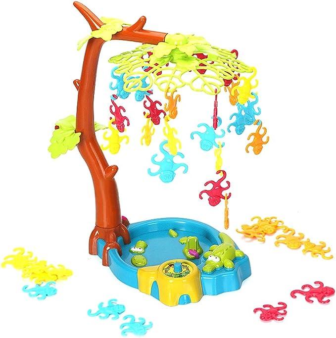 STOBOK Mono Columpio árbol Juego de Mesa Divertidos Juguetes educativos para niños pequeños: Amazon.es: Hogar