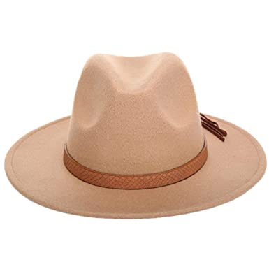 Nvfshreu Gorros Sombrero Flojo De Sombrero Sombrero De Fieltro ...