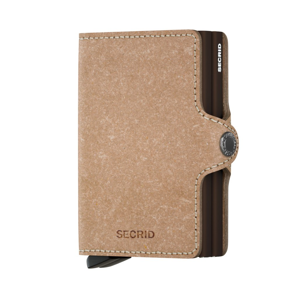 Secrid - Porte-cartes Twinwallet Recycled taille 9.5 cm TR-Natural
