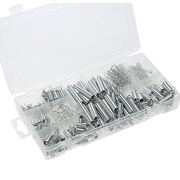 FengHe Praktisch Federspannungs-Feder-Druckfeder-Satz 200 transparente PP-Plastikbox 200PCS dauerhaft