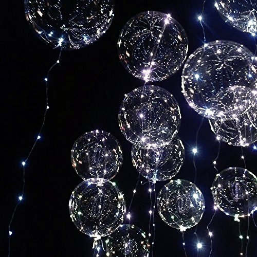 Helium Balloons With Led Lights - 9