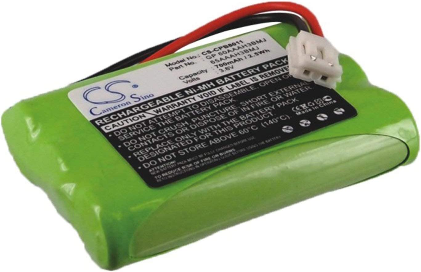 VINTRONS 700mAh Battery for GE 27980, 27990, 27993, 28110, 28111, 28112, 28122, 28128,