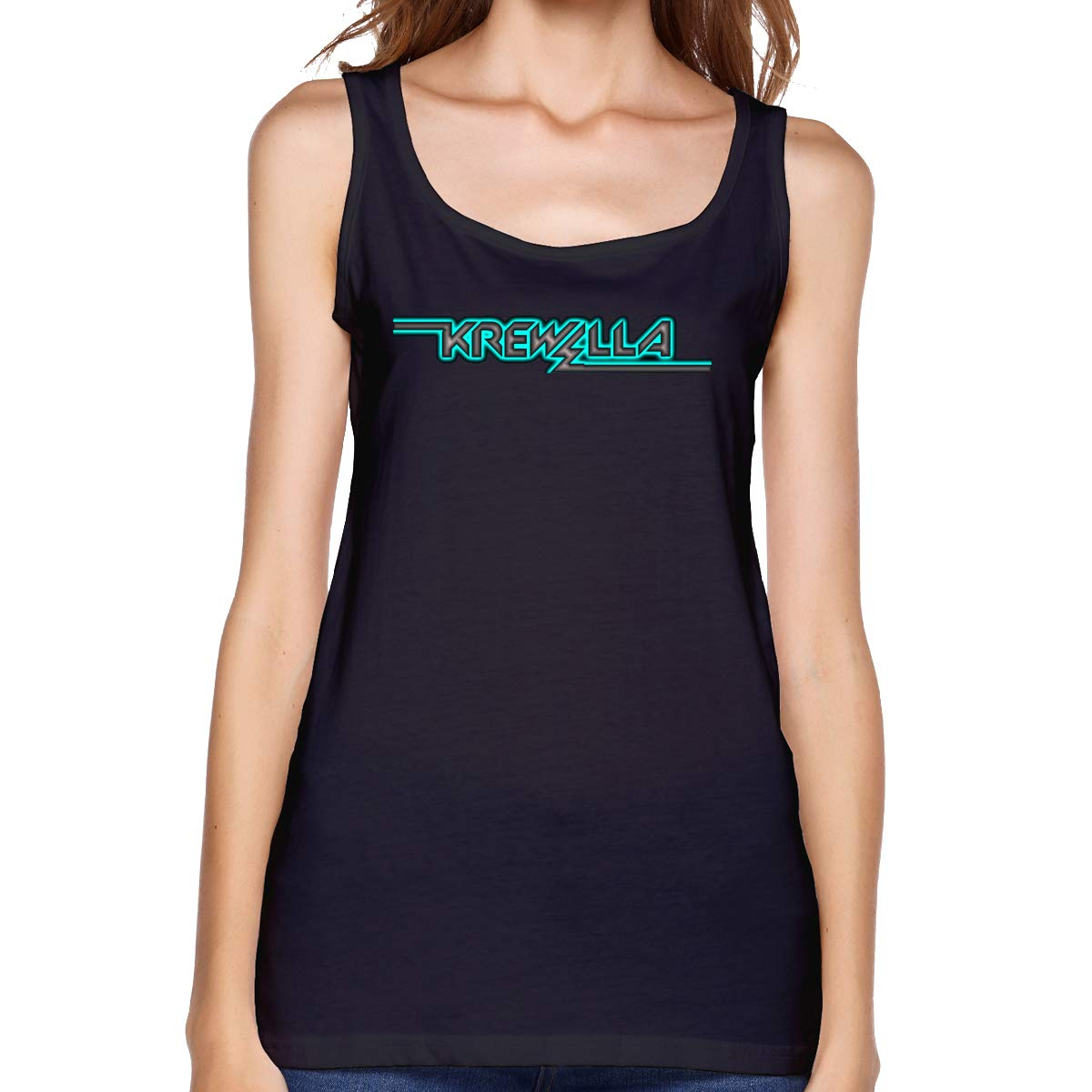 Fredrmarr Krewella Summer Sleeveless Casual Tank Tops T-shirts