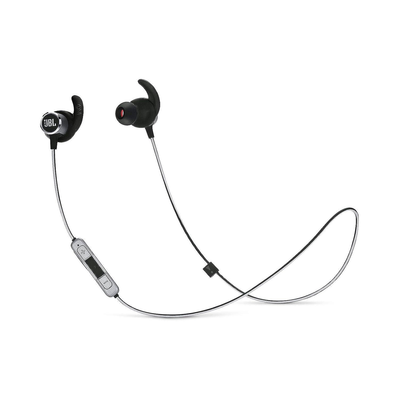 JBL Reflect Mini 2 Wireless in-Ear Sport Headphones with Three-Button Remote and Microphone - Black JBLREFMINI2BLK