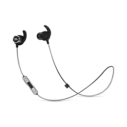 e28ea4ef383 Amazon.com: JBL Reflect Mini 2 Wireless in-Ear Sport Headphones with  Three-Button Remote and Microphone - Black: Electronics