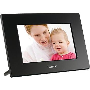 sony dpf a710 7 inch wqvga digital photo frame with remote black