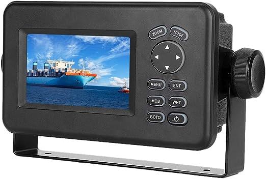 EBTOOLS Marine GPS Navigator, 4.3 pulgadas LCD Combo Marine GPS Navigator Transceptor de pantalla multipantalla Transceptor LCD: Amazon.es: Coche y moto