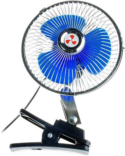 Ventilador Coche Ventilador de 12 V que oscila con el vehículo del ...