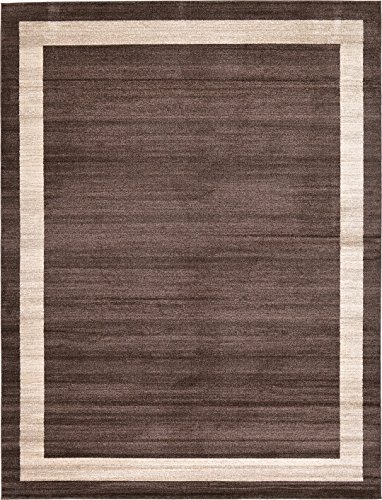 Cheap Over-dyed Modern Vintage Rugs Brown 10′ x 13′ FT Palma Collection Area Rug – Perfect for any Place