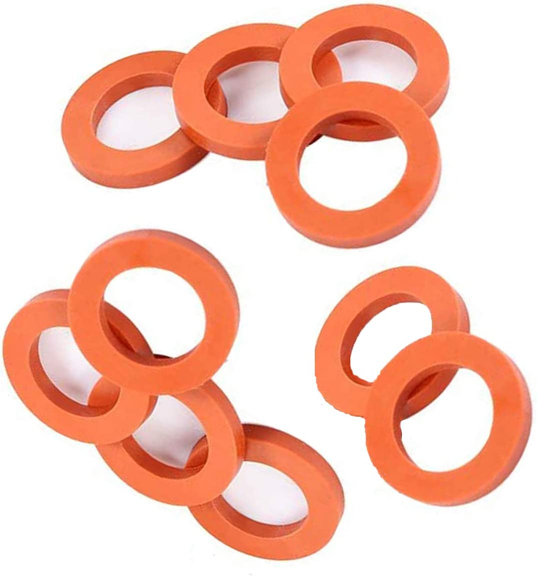 "ONESWI Garden Hose Washer Heavy Duty Rubber Washer Seals, Fit All Standard 3/4"" Garden Hose Fittings"