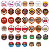 Flavored Coffee Single Serve Cups For Keurig K cup Brewers Variety Pack Sampler (Flavored, 40 Count)