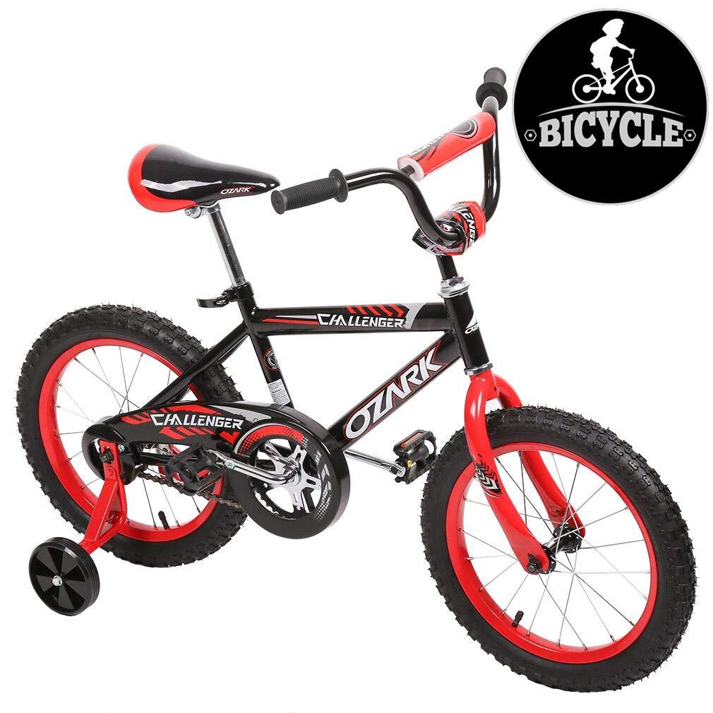 "New 16"" Steel Frame Children BMX Boy Kids Bike Bicycle with Training Wheels 16B"