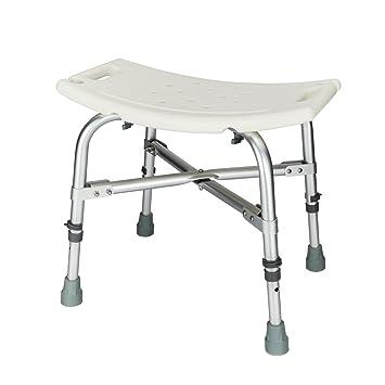 Mefeir 450LBS Heavy Duty Medical Shower Chair Bath Seat, Transfer Bench  Stool Upgrade Framework SPA