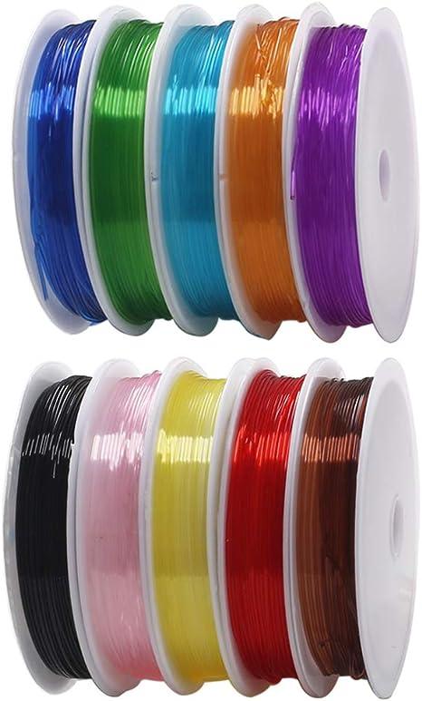Elastizar Elástico-Paquete de 2-20 metros por rollo Grande Elección De Colores