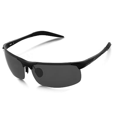 Mode Retro Polarisiert Sonnenbrille Herren Fahren Draussen Sport Brillen UV400 ziSk5i