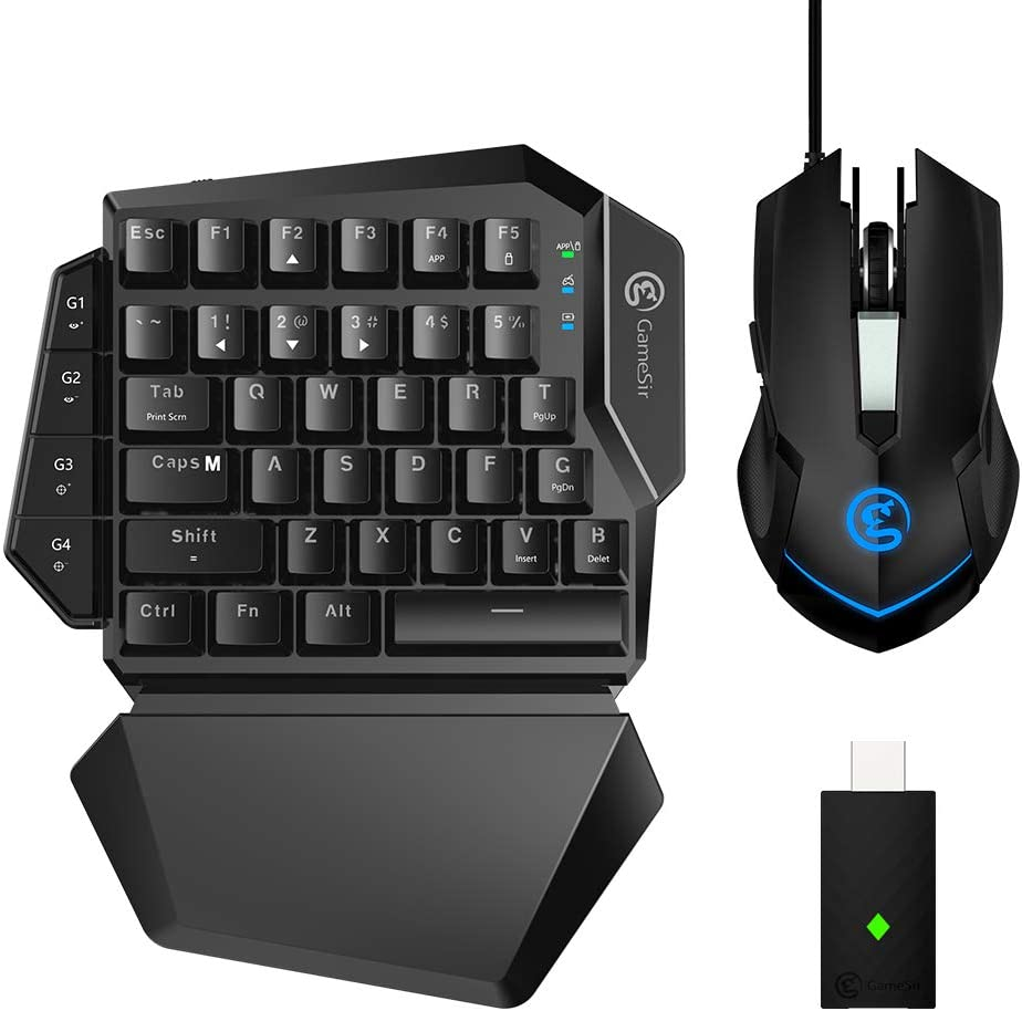 GameSir VX AimSwitch E-Sports Combo, Pack de Teclado y Ratón para Xbox One, PS4, PS3, Switch y Windows PC