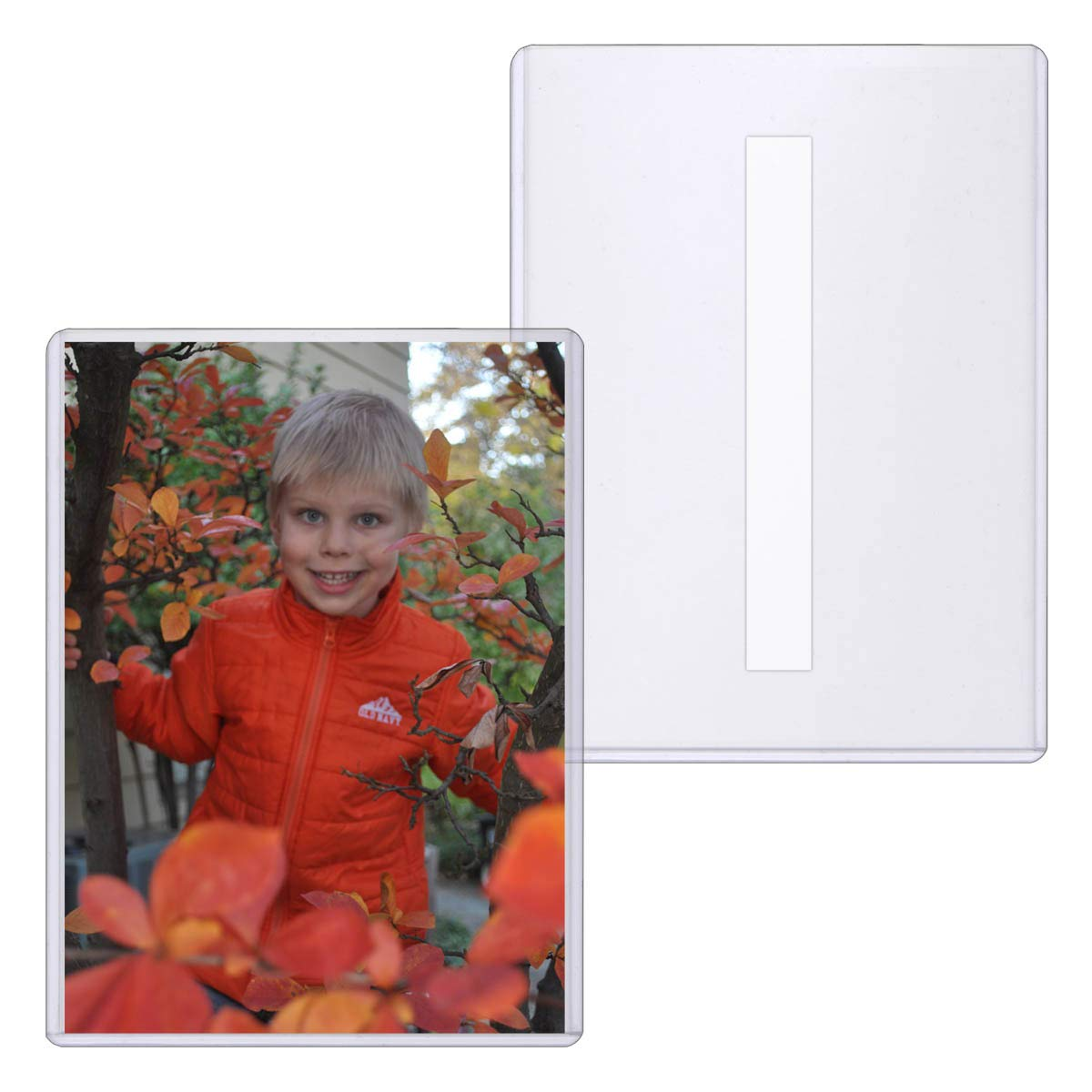 StoreSMART - Rigid Toploaders with Peel & Stick Back (Remove & Reuse) - 5'' x 7'' - Photo Size - 25-Pack - HPP5X7PSR-25