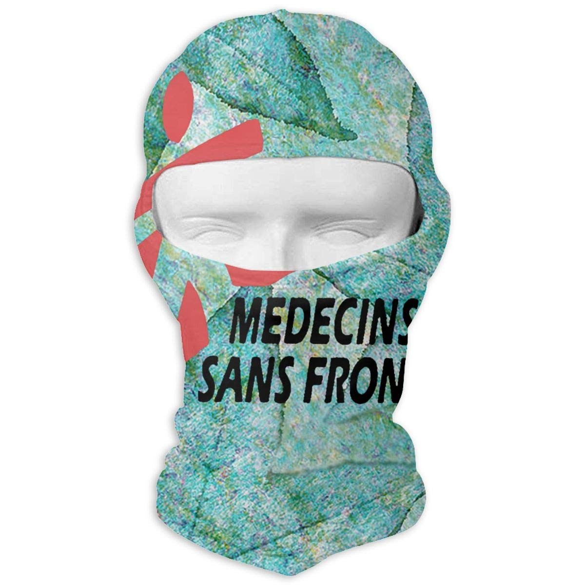 Medecins Sans Frontieres Winter Hiking Full Face Mask Dust Protection Head Hood for Men and Women Gxdchfj