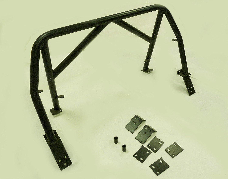 OBX Racing Sports 4-Points Roll Bar /& Door Bars Black 99-05 Mazda Miata MX5 MX-5 Double Diagonal