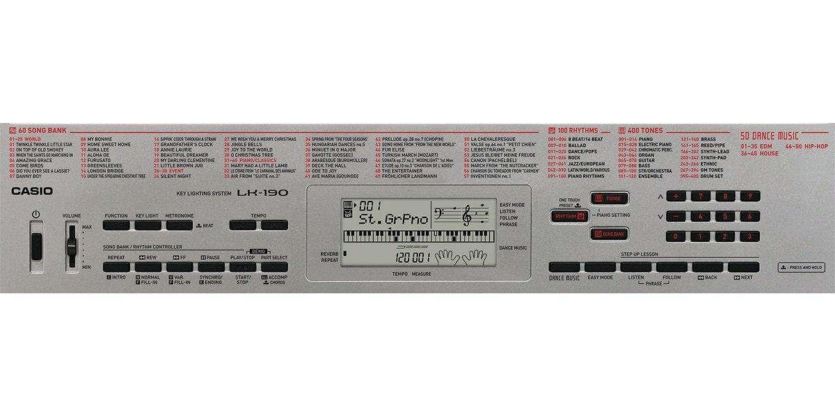 Casio LK-190 61-Key Portable Keyboard