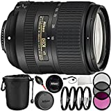 Nikon AF-S DX NIKKOR 18-300mm f/3.5-6.3G ED VR Lens 13PC Bundle with Manufacturer Accessories & Accessory Kit (Certified Refurbished)