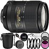 Nikon AF-S DX NIKKOR 18-300mm f/3.5-6.3G ED VR Lens 13PC Bundle with Manufacturer Accessories & Accessory Kit (Certified Refurbished)