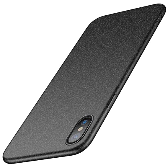 factory authentic 638fd bd89f Anccer iPhone X Case [Colorful Series] [Ultra-Thin] [Anti-Drop] Premium  Material Slim Full Protection Cover iPhone Xs 2018 (Matte Gray)