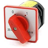 Rotary Cam 2 Posición combinación de cambio Interruptor 380 V 20 A 4 KW