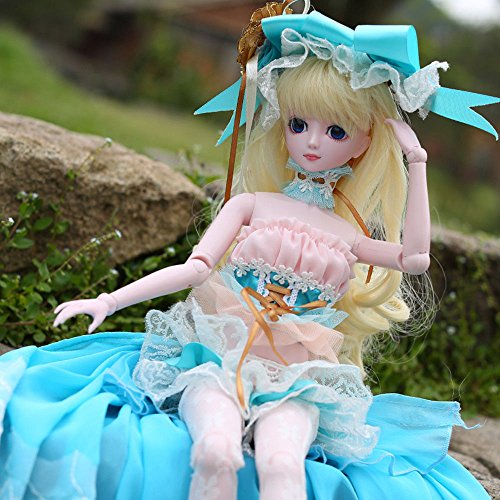 Isabella BJD Dolls 1/4 SD Doll 45cm 18'' Jointed Dolls Toy Gift for Girl by EVA BJD (Image #5)