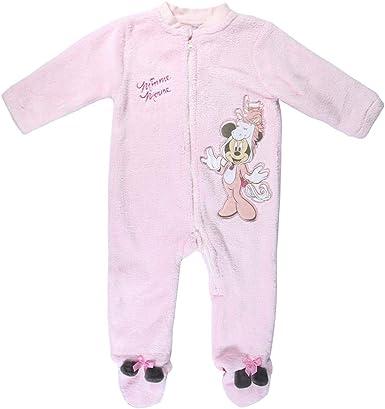 Cerdá - Pijama Cuerpo Entero Minnie - Licencia Oficial Disney ...
