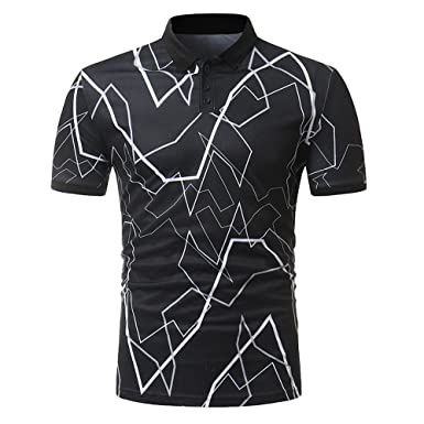 Fashion Print Shirt Donci 2019 Summer Popular Style Slim Fit Comfort Tops