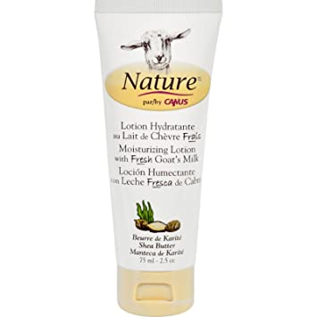 Nature By Canus Lotion - Goats Milk - Nature - Shea Butter - 2.5 oz