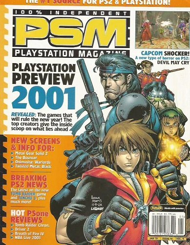 100% Independent PSM Playstation Magazine: January 2001, Issue 41, Volume 5