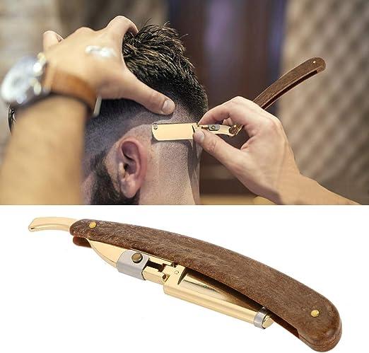 Navaja de Afeitar profesional para barbero, Máquina de afeitar de ...
